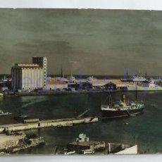 Postales: LAS PALMAS DE GRAN CANARIA. MUELLES DEL PUERTO DE LA LUZ. MONTAÑES Nº 1302 (21,5 X 9 CM). Lote 257607490