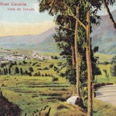 Cartes Postales: VISTA DE LAS PALMAS, GRAN CANARIA, VISTA DE TENOLLA. POSTAL EN BYN COLOREADA. SIN CIRCULAR. Lote 258039200