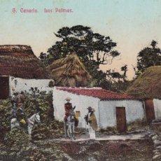 Cartes Postales: LAS PALMAS DE GRAN CANARIA, LA LECHUCILLA. POSTAL EN BYN COLOREADA. SIN CIRCULAR. Lote 258039745