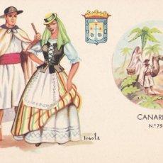 Cartes Postales: CANARIAS, POSTAL ILUSTRADA POR IRAOLA. ED. E.P. ROSETTE MADRID. SIN CIRCULAR. Lote 258040105