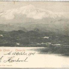 Cartoline: CANARIAS TENERIFE PICO TEIDE DORSO SIN DIVIR. Lote 258763940