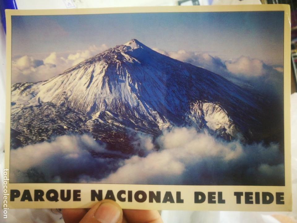 POSTAL PARQUE NACIONAL DEL TEIDE N 128 ART EDITION REINER LOOS A ESTADO PEGADA (Postales - España - Canarias Moderna (desde 1940))