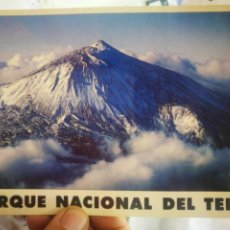 Postales: POSTAL PARQUE NACIONAL DEL TEIDE N 128 ART EDITION REINER LOOS A ESTADO PEGADA. Lote 260586345
