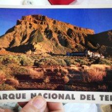 Postales: POSTAL PARQUE NACIONAL DEL TEIDE PARADOR DE TURISMO CON ARRUGAS A ESTADO PEGADA. Lote 260689335