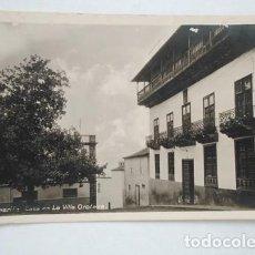 Postales: CASA EN LA VILLA OROTAVA. OTTO AUER. POSTAL FOTOGRÁFICA, SIN CIRCULAR. Lote 260845550