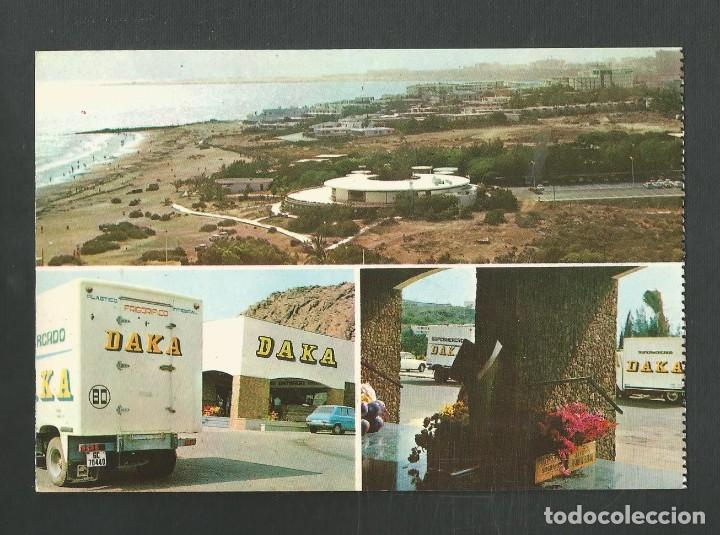 POSTAL CIRCULADA PLAYAS DE SAN AGUSTIN 1 CANARIAS EDITA LAS PALMAS DE NOCHE (Postales - España - Canarias Moderna (desde 1940))