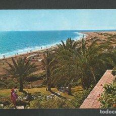 Postales: POSTAL CIRCULADA GRAN CANARIA 5010 PLAYA DEL INGLES EDITA BEASCOA. Lote 261989345