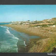 Postales: POSTAL CIRCULADA GRAN CANARIA 10143 PLAYA DE SAN AGUSTIN EDITA LAS AFORTUNADAS. Lote 261989485