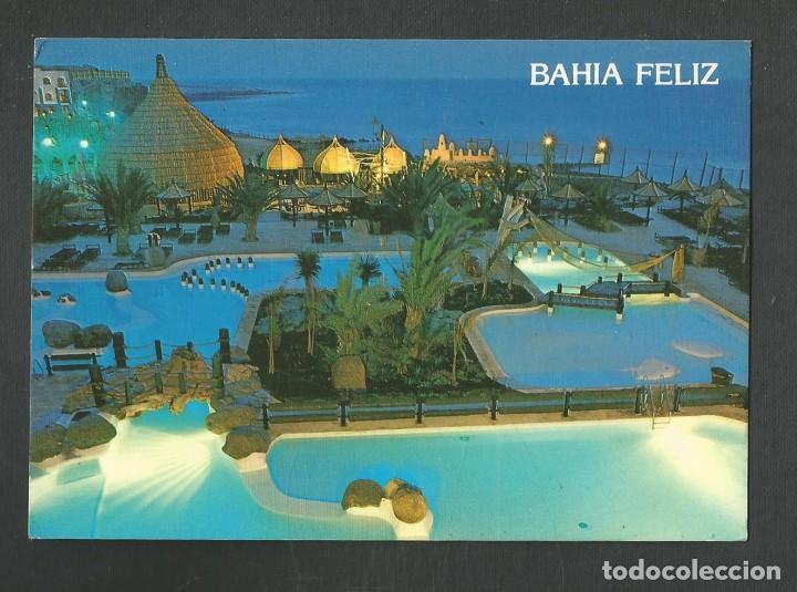 POSTAL CIRCULADA GRAN CANARIA URBANIZACION BAHIA FELIZ 10844 EDITA BRITO (Postales - España - Canarias Moderna (desde 1940))