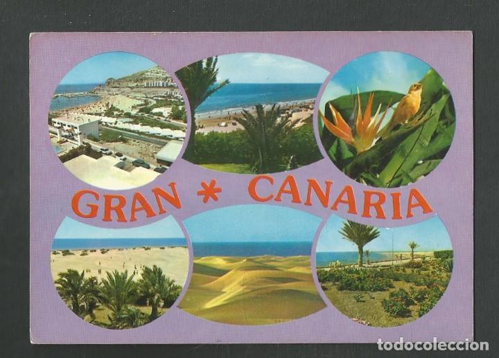 POSTAL CIRCULADA GRAN CANARIA 10655 EDITA BRITO (Postales - España - Canarias Moderna (desde 1940))