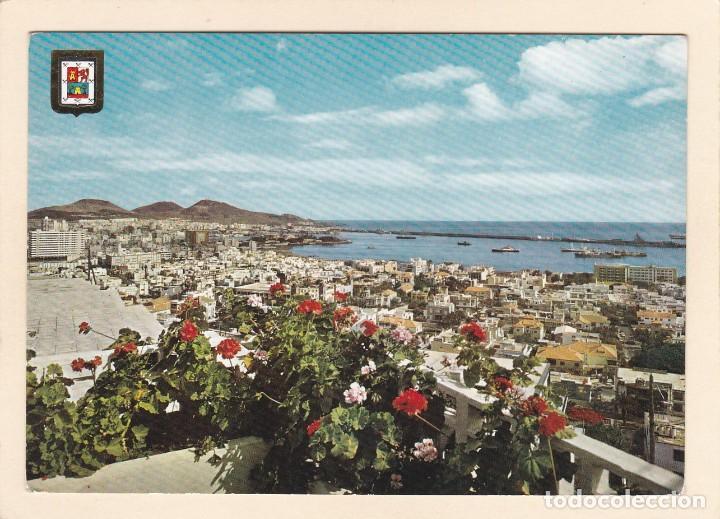 POSTAL VISTA PARCIAL. LAS PALMAS DE GRAN CANARIA (1967) (Postales - España - Canarias Moderna (desde 1940))