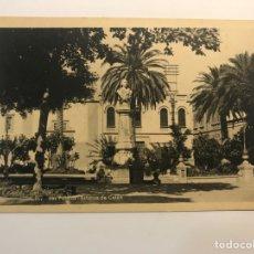 Postales: LAS PALMAS, POSTAL NO.167, ESTATUA DE COLON. EDIC., BAZAR ALEMÁN (H.1940?) S/C. Lote 262136195