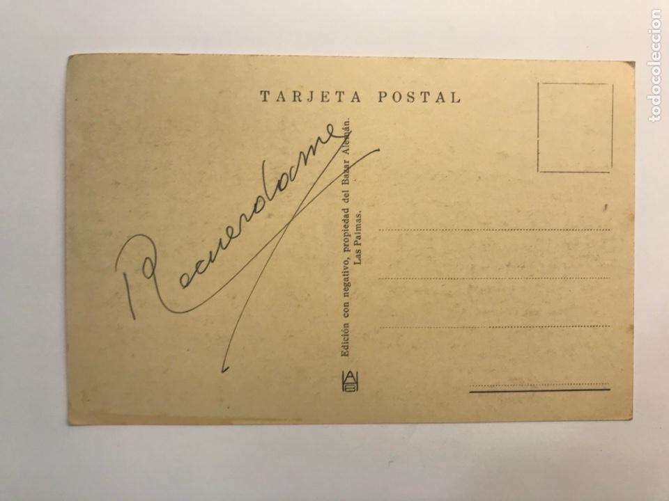 Postales: LAS PALMAS, Postal No.169, Drago. Edic., Bazar Alemán (h.1940?) S/C - Foto 2 - 262140105