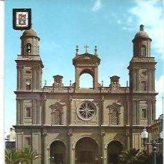 Postales: POSTAL A COLOR IMAGENES ESCUDO DE ORO PRIMERA COLECCION DE CATEDRALES Nº 16 LAS PALMAS GRAN CANARIA. Lote 262507530