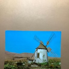 Postales: POSTAL FUERTEVENTURA. MOLINO DE ANTIGUA AÑOS 70. Lote 262651090