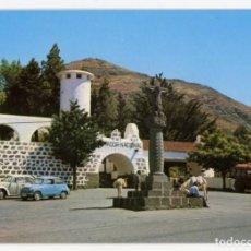 Postales: EM0859 GRAN CANARIA PARADOR DE LA CRUZ DE TEJADA ZERKOWITZ Nº1020 SEAT 600 VW COX BURROS CAMION. Lote 262666060