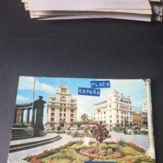 Postales: POSTAL DE TENERIFE PLAZA DE ESPAÑA - BONITAS VISTAS- LA DE LA FOTO VER TODAS MIS POSTALES. Lote 262686570