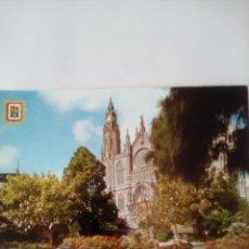 Postales: POSTAL GRAN CANARIA, ARUCAS, LA CATEDRAL. DIRIGIDA SEÑORES BORBÓN. Lote 262714115