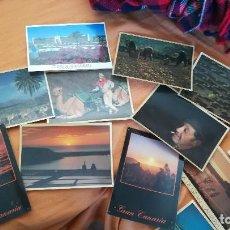 Postales: COLECCION DE 49 POSTALES DE CANARIAS DE AÑOS 60 A 80. Lote 262798540