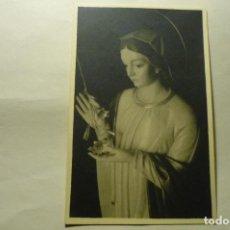 Postales: POSTAL VIRGEN.-COLEGIO S.IGNACIO LAS PALMAS. Lote 262802470