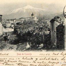 Postales: POSTAL ANTIGUA - PEAK DE TENERIFE -CIRCULA Y SIN DIVIDIR. Lote 262878095