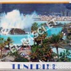 Postales: ANTIGÜA POSTAL EN COLOR SIN CIRCULAR DE TENERIFE- LAGO MARTIANEZ - PUERTO DE LA CRUZ. Lote 263557125