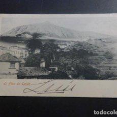 Postales: TENERIFE EL PICO TEIDE ED. SRTA PETRA SANJUAN REVERSO SIN DIVIDIR. Lote 263628810