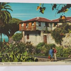 Postales: POSTAL A TYPICAL DWELLING TENERIFE CANARY ISLANDS. Lote 265174739