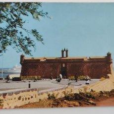 Postales: POSTAL (LANZAROTE) CASTILLO DE SAN JOSÉ. Lote 265176089