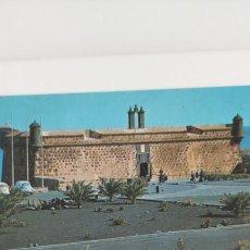 Postales: POSTAL LANZAROTE. ARRECIFE. CASTILLOS DE SAN JOSÉ Y SAN GABRIEL.. Lote 265189859