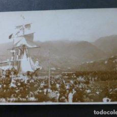 Postales: SANTA CRUZ DE LA PALMA CANARIAS FIESTAS LUSTRALES POSTAL FOTOGRAFICA. Lote 265190609