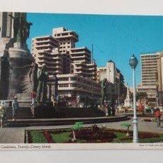Postales: POSTAL PLAZA DE CANDELARIA, TENERIFE, CANARY ISLANDS. Lote 265190844