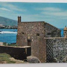 Postales: POSTAL 215 PUERTO DE LA CRUZ CASTILLO DE SAN FELIPE 1965. Lote 265194149