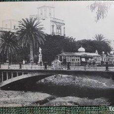 Postales: POSTAL PUENTE DE PIEDRA-AÑO 1945. LAS PALMAS DE GRAN CANARIA. ED. HERSAN. REPRODUCCIÓN AÑO 1993.. Lote 265404619
