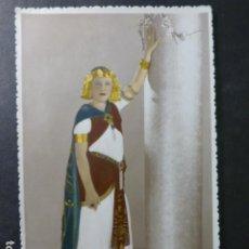 Postales: TENERIFE RETRATO MUJER DISFRAZADA CARNAVAL A. BENITEZ FOTÓGRAFO 1935. Lote 265448559