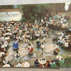 Postales: POSTAL GRAN CANARIA. PUEBLO CANARIO. BAILE TÍPICO.. Lote 265481844