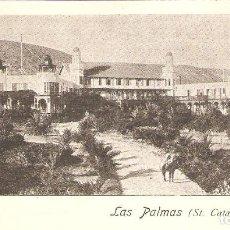 Postales: LAS PALMAS. ST.CATALINA HOTEL.. Lote 265718199