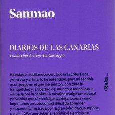 Postales: SANMAO. DIARIOS DE LAS CANARIAS. RATA BOOKS. Lote 266049518
