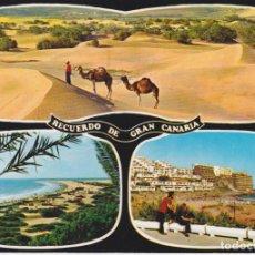 Cartes Postales: GRAN CANARIA, VISTAS DEL SUR DE LA ISLA - GLOBAL TRADERS 1166 - CIRCULADA. Lote 266433408