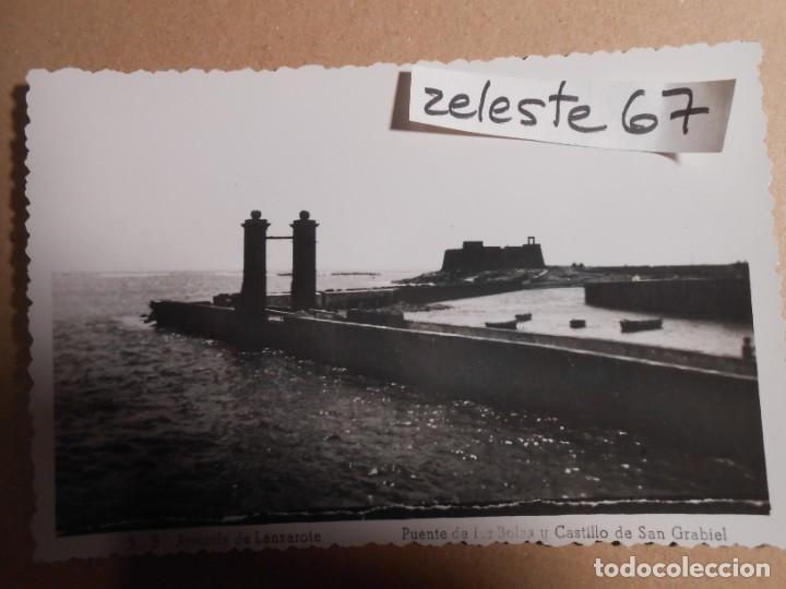 ARRECIFE DE LANZAROTE - PUENTE DE LAS BOLAS (Postales - España - Canarias Moderna (desde 1940))