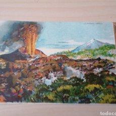 Postales: ANTIGUA POSTAL TENERIFE. VOLCAN CHINYERO. Lote 266534303