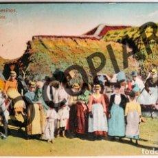 Postales: ANTIGUA POSTAL DE TENERIFE. CAMPESINOS. 1920. ESCRITA Y CIRCULADA.. Lote 266566003