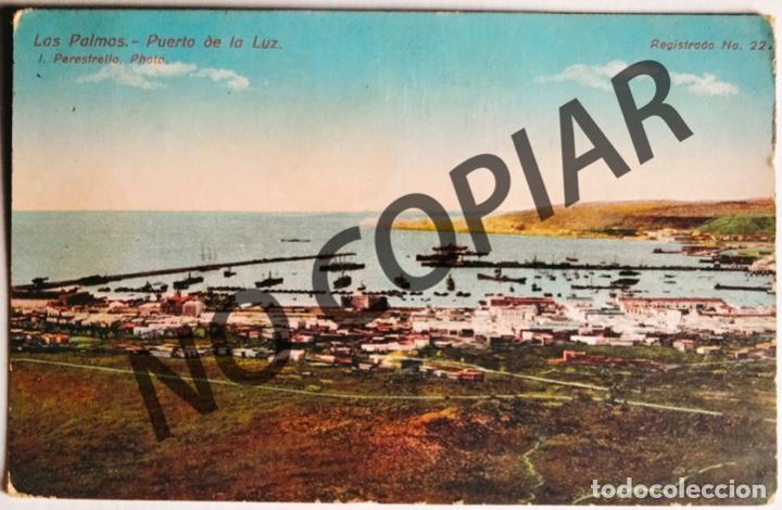 ANTIGUA POSTAL DE LAS PALMAS. PUERTO DE LA CRUZ. 1920. ESCRITA Y CIRCULADA. (Postales - España - Canarias Antigua (hasta 1939))