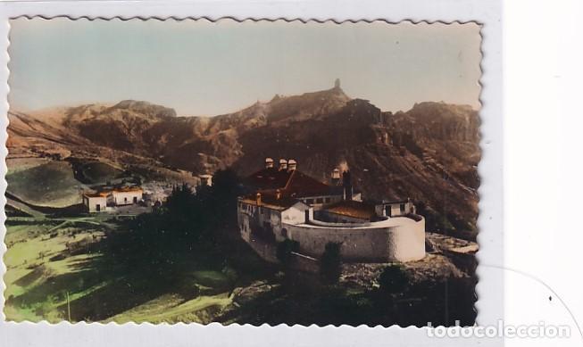 166 TEJEDA (GRAN CANARIA) PARADOR Y ROQUE NUBIO. EDICIONES LUJO. ESCRITA. SIN CIRCULAR. (Postales - España - Canarias Antigua (hasta 1939))