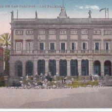 Postales: LAS PALMAS DE GRAN CANARIA, MUSEO COMIDA PALOMAS. NO CONSTA EDITOR. BYN COLOREADA. SIN CIRCULAR. Lote 267505239