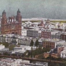 Postales: LAS PALMAS DE GRAN CANARIA, VISTA PARCIAL. NO CONSTA EDITOR. BYN COLOREADA. SIN CIRCULAR. Lote 267505409