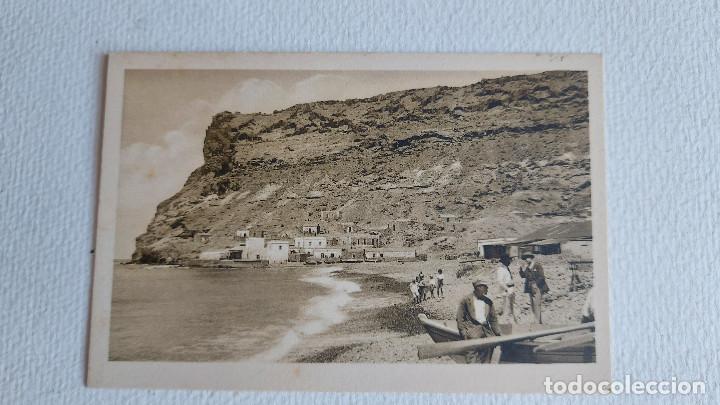 R-78.- POSTAL DE -- MOGAN -- ( GRAN CANARIA ) LA PLAYA .- (Postales - España - Canarias Antigua (hasta 1939))
