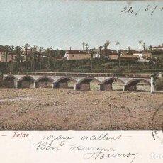 Postales: GRAN CANARIA - TEIDE SIN DATOS EDITOR CIRC. EN 1907. Lote 268410659