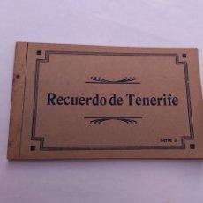 Postales: ANTIGUA LIBRITO TARJETA POSTAL RECUERDO DE TENERIFE SERIE 3. Lote 269973173