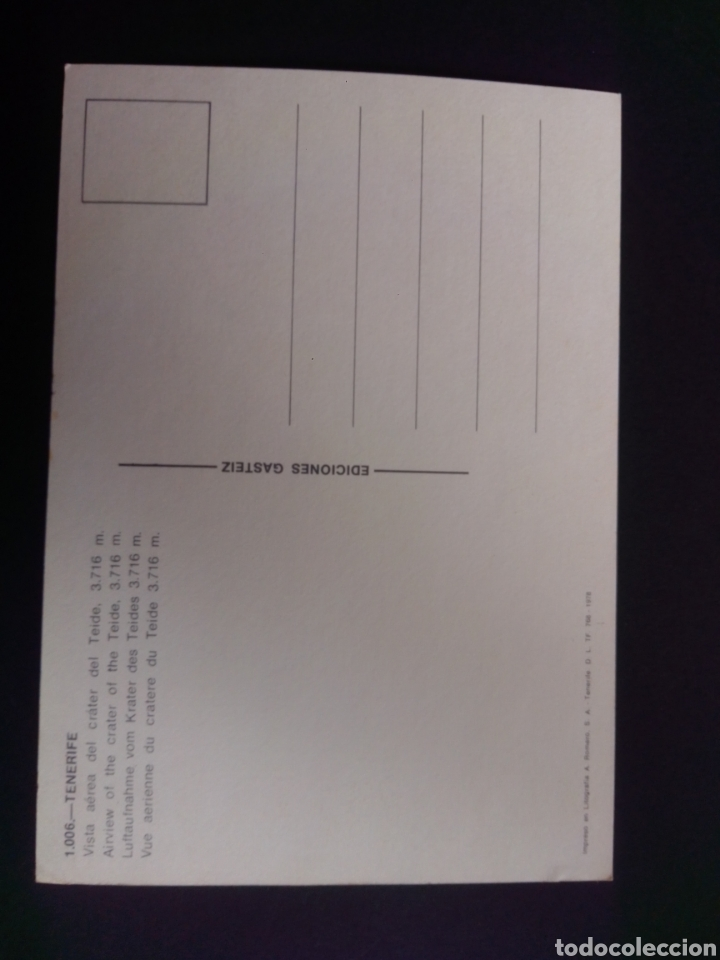 Postales: POSTAL DE TENERIFE. CANARIAS. - Foto 2 - 270102933